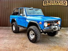 The Ford Bronco is a sport utility vehicle that was produced from