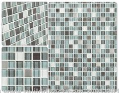 BuildDirect®: Cabot Glass Mosaic - Crystalized Glass Blend Series