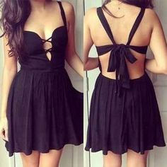 New Sexy Ladies Summer Sleeveless Backless Cocktail Evening Party Mini Dress