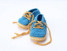 milasila / prvé papučky Cute Crochet, Baby Shoes, Kids, Clothes, Fashion, Young Children, Outfits, Moda, Boys