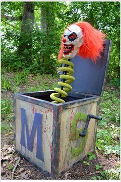 33 wahnsinnig intelligente unheimliche spukhaus ideen fr halloween for all you clown loversor haters solutioingenieria Images