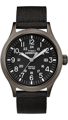 Timex is a very well-known brand https://www.watchreviewblog.com/timex-tw4b06900-mens-expedition-scout-watch-review/