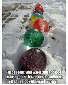Big marbles !!