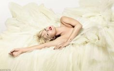 KATE MOSS photographed by NICK KNIGHT wearing DIOR Couture.