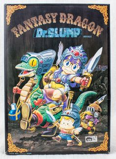 Dr.Slump Arale chan Fantasy Dragon Plastic Model Figure Kit Bandai JAPAN ANIME