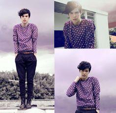 Purple craze. #fashion