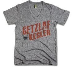 Ryan Getzlaf and Ryan Kesler Officially Licensed NHLPA Anaheim V-Neck Mens XS-2XL Getzlaf and Kesler O