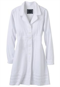 The perfect lab coat?  Complete with front and back princess seams -- who knew? (by Scrub Works)