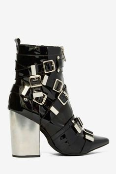 Jeffrey Campbell Osprey Patent Leather Boot - Boots