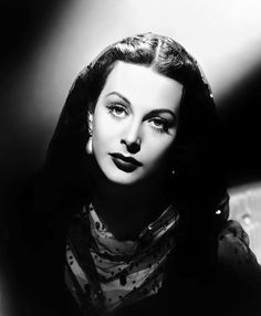 """Beautiful Hedy Lamarr by Clarence Sinclair Bull, publicity portrait for """"The Conspirators"""", 1944."""