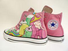 Mi reino por estos Chucks Adventure Time High Tops