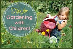 Seven Tips To Get Children Involved in the Garden