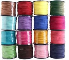 2-5mm-Leather-Cord-Soft-Suede-Lace-velvet-Thread-DIY-Bracelet-Necklace-Rope-5m