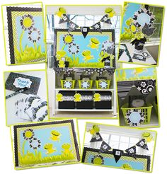 Loving this for my new 2nd grade classroom this year!!  Frogs and BW Collection Mini Classroom images