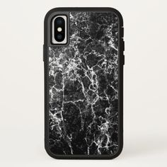 Shop Stylish Modern Black Marble Graffiti Case-Mate iPhone Case created by Simply_Simple_Shop. Marble Iphone Case, Marble Case, Graffiti, Iphone Pro, Iphone Case Covers, Apple Iphone, Graffiti Artwork, Street Art Graffiti