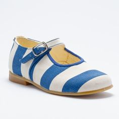 Mary Jane wide stripes. Available at lacoquetakids.com c66d41190a0d