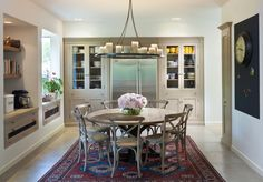 Stainless Dining Table Room Rustic with Built in Storage Traditional Bar Stools and Counter