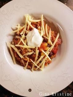 Tacogryte ⋆ Gina Kristine Vegan Recipes, Vegan Food, Waffles, Breakfast, Morning Coffee, Veggie Food, Vegane Rezepte, Vegan Meals, Waffle