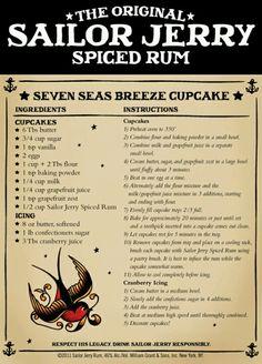 Seven Seas Breeze cupcakes