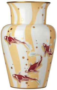 Constellation Carp Vase