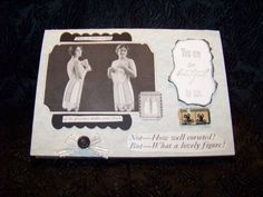 Vintage Corest You Are So Beautiful to Me Card by TraceyAnns, $4.25