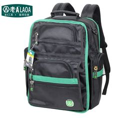 58.98$  Watch now - http://aliyah.shopchina.info/go.php?t=32520202234 - LAOA Brand Multifunction Tool Backpack High Quality Thicken Professional Electrician Backpack Travel Bag  #buychinaproducts