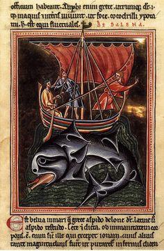 Бестиарии. О китах. Конец XII в.