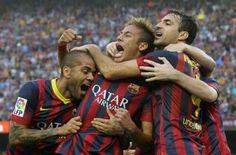 Neymar debuta a lo grande en su primer Clásico
