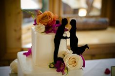 Simply Silhouettes Wedding Cake Topper