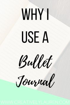 Bullet journaling has become very popular recently. Here is why I use a bullet journal and how it works for me!