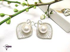 Spring flower  Silver 925 SWAROVSKI ELEMENTS  by PetyaJewelry