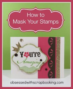 How to Mask Stamps Close to My Heart Cricut Art Philosophy Ivy Lane