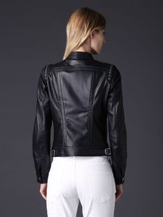 Diesel LENTRY Leather Jackets | Diesel Online Store