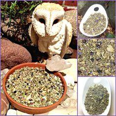 The DRUID'S VISIONARY TEA Three Lakes, Spiritual Dimensions, Herbal Essences, Lemon Balm, Vegan Gluten Free, Harvest, The Cure, Berries, Herbs