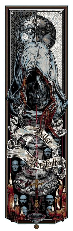 Valar Morghulis: God of Death - Many Faced Gods - The Stranger by Rhys Cooper *