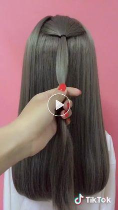 Vídeo corto de Komi con 变 🐾 sound-dai_diy original Vídeo corto de 百变🐾小美 con ♬original sound - dai_diy Vídeo corto de Komi con 变 🐾 sound-dai_diy original Pretty Hairstyles, Braided Hairstyles, Medium Hair Styles, Curly Hair Styles, Cabelo Ombre Hair, Pinterest Hair, Hair Videos, Hair Day, Hair Designs