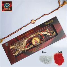 Picture of Gold Plated Rakhi - Hanuman