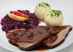 Rheinischer Sauerbraten Recipe,How To Make Rheinischer Sauerbraten   Rheinischer Sauerbraten Recipe is delicious, tasteful and yammi dish. Rheinischer Sauerbraten Recipe can be made in less than few minutes with the help of very few ingredients which is available at your nearest super market.Rheinischer Sauerbraten Recipe  easy to make at your home check below step by step directions of the recipe and enjoy cooking.