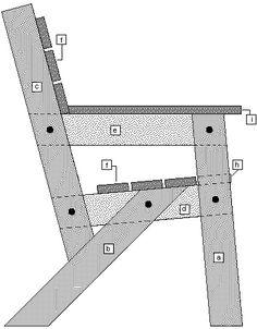 garden chair parts identification