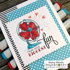 Rowhouse Greetings | Va-Va-Valentines by Power Poppy Copic Color Chart, Good Morning Friends, Inspire Me, Funny Things, Poppy, How To Find Out, Encouragement, Bloom, Valentines