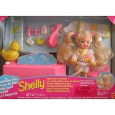 kelly dolls mattel | Mattel Barbie - KELLY AA Doll New Baby Sister of Barbie! (1994 ...