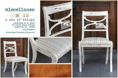 Hand Painted Furniture Using Annie Sloan Chalk Paint. Available At  Miscellanea   Antiques At S