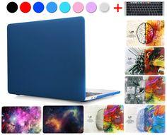 Para el caso de macbook pro 13 a1706 toque bar a1708 2016 aire 11 12 Pro 13 15 Retina Duro Mate Cristalino de la Cubierta de la Bolsa de Ordenador Portátil de Color Shell