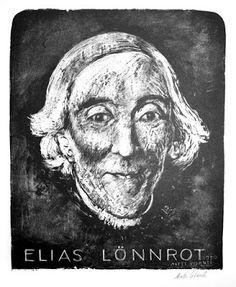 Elias Lönnrot gathered the poems of the Kalevala and the Kanteletar
