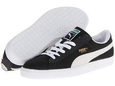 Puma Basket Classic Reflective schoenen zwart