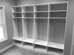 Cubbies perfect spaces for your busy household. www.closetstorage.com