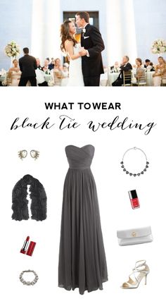 Wedding Guest Attire - What to Wear to a Black Tie Wedding
