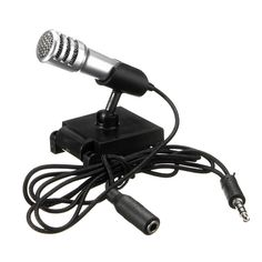1bbb777a44763 3.5mm Mini Handheld Studio Speech Mic Skype Talk KTV Karaoke Singing  Microphone for iPhone Xiaomi