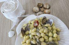 Gnocchetti di patate con crema di lupini - di Monica Cazzaniga #fuudly #ricette