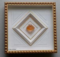 les cadres de Manel / miniature Lalique / biseau himalaya / http://le-blog-de-manel.over-blog.com//